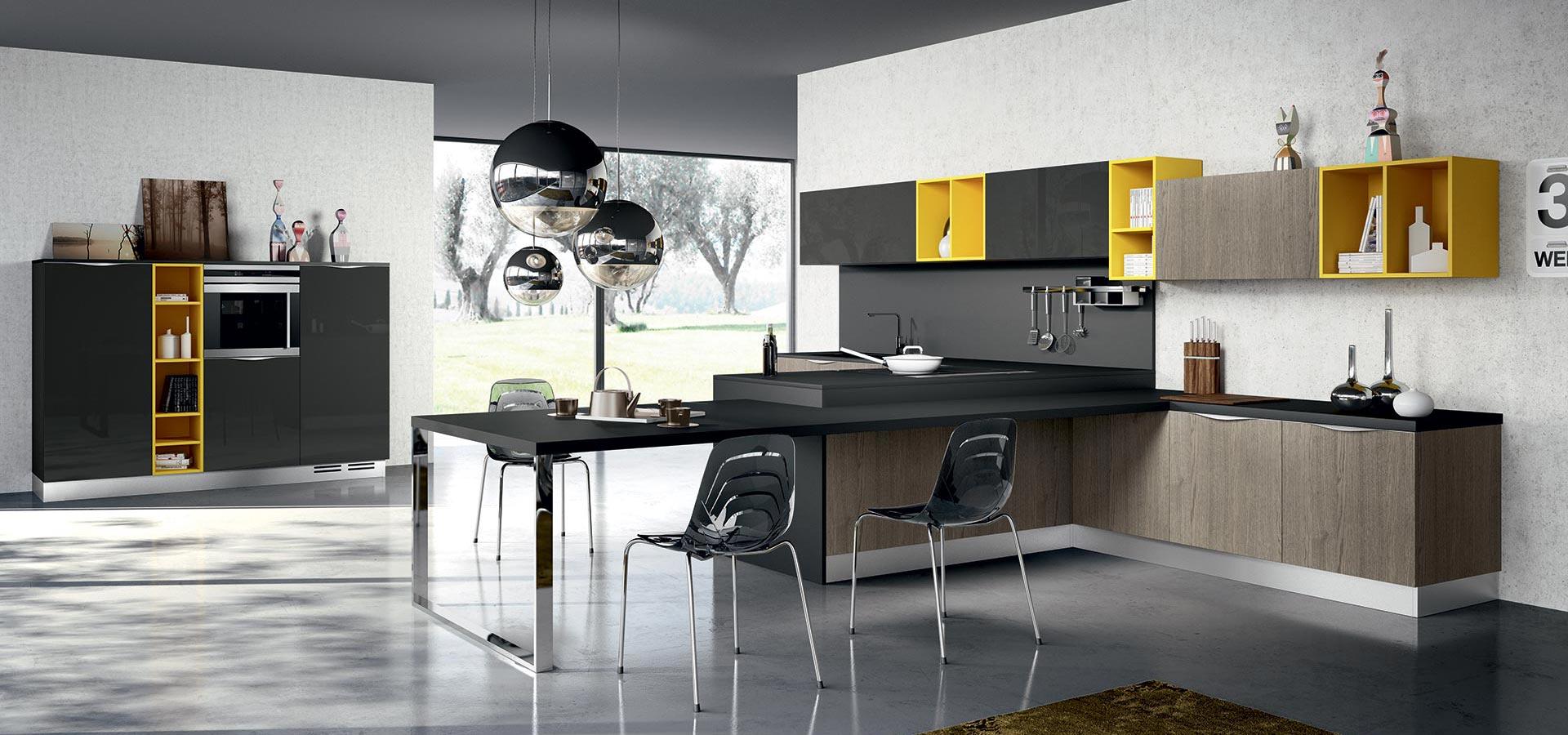 Arredo3 - Cucina - Modello Moon 4