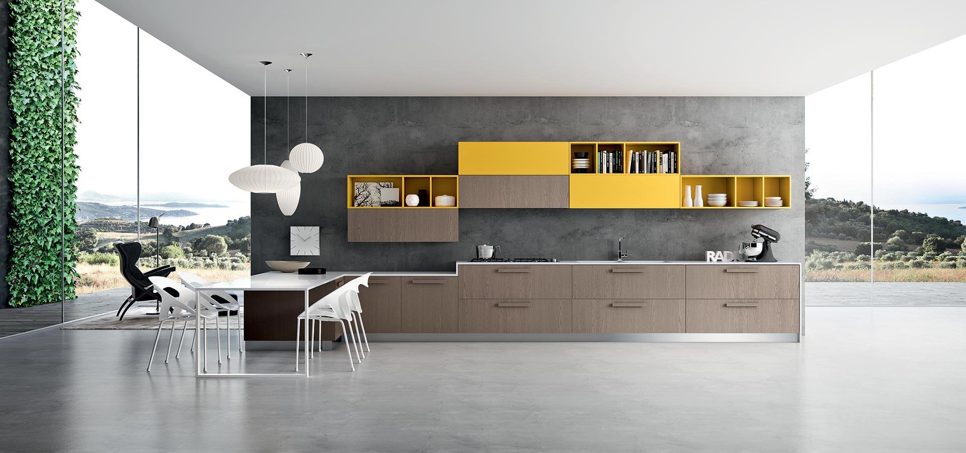 In Cucina Diamo Spazio Al Colore Casa Di Stile #B78C14 1920 900 Cambiare Colore Al Top Della Cucina