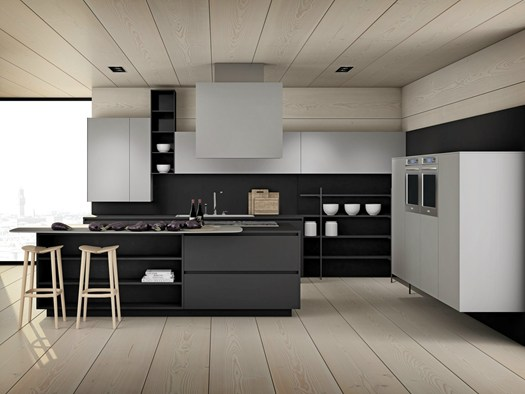Cucine minimal dalle linee essenziali - Casa di stile