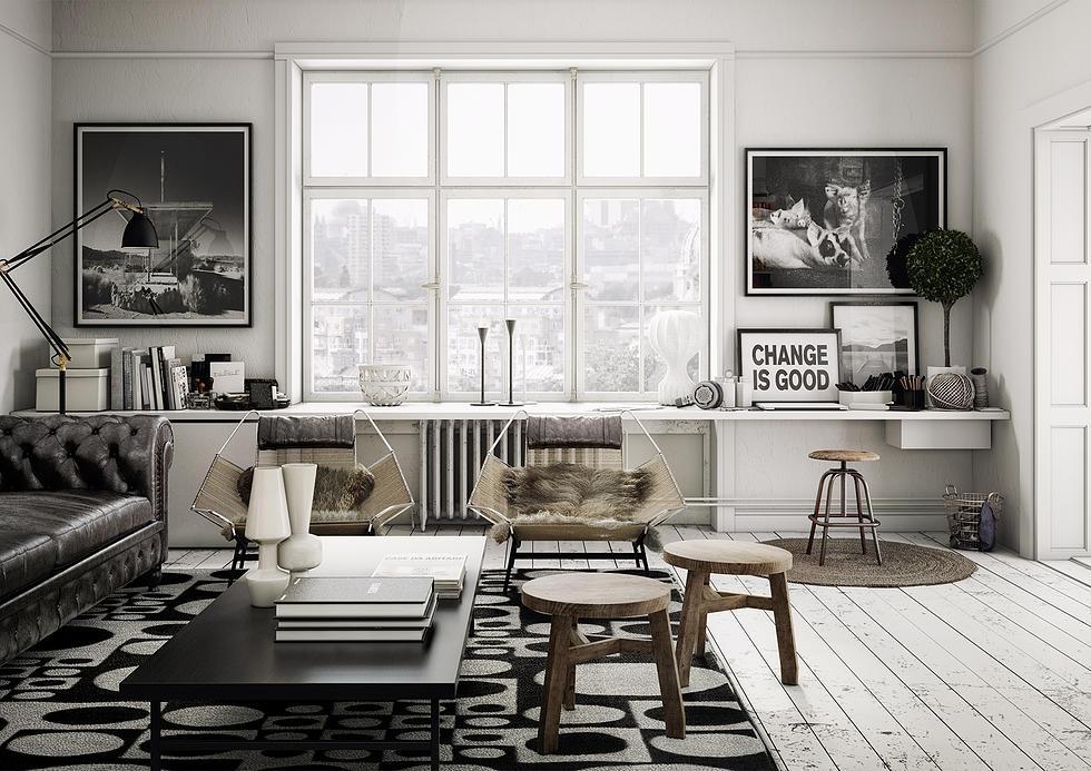 5 idee per un soggiorno di design - Casa di stile