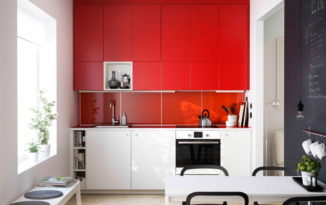 In cucina diamo spazio al colore casa di stile for Pensili cucina ikea