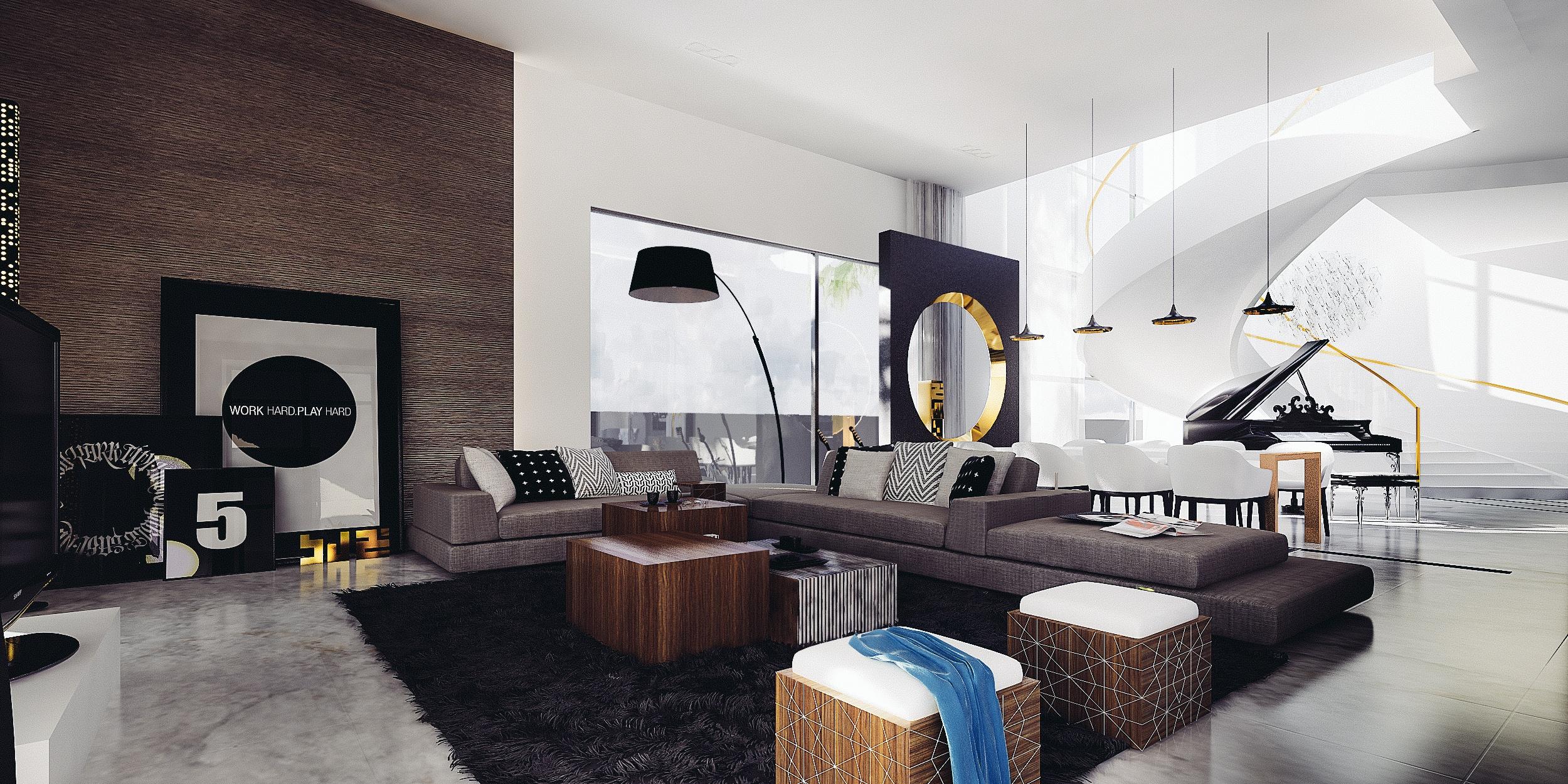 Mimar Interiors - Living room