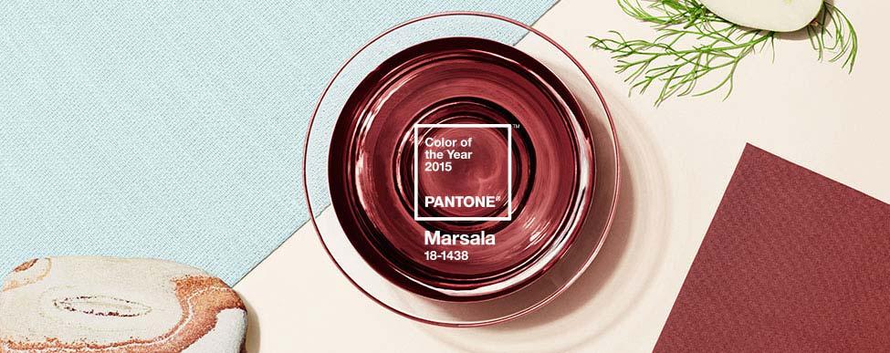 Marsala è il colore dell'anno 2015