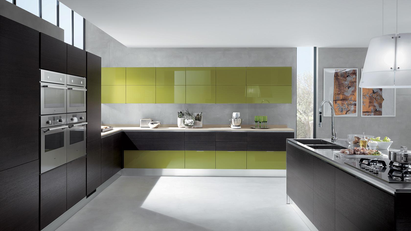 In Cucina Diamo Spazio Al Colore Casa Di Stile #8A8941 1680 945 Cambiare Colore Al Top Della Cucina