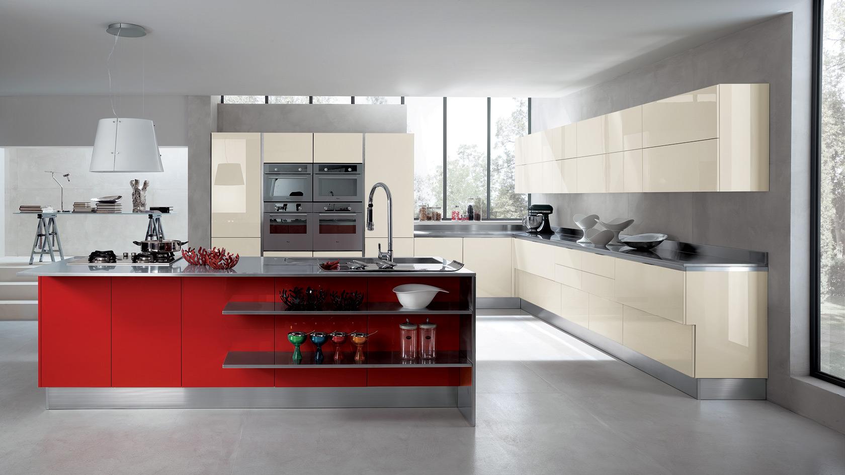 In cucina diamo spazio al colore casa di stile - Casa scavolini ...