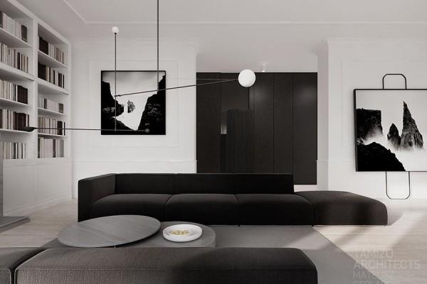 Casa bianco e nero - Varsavia