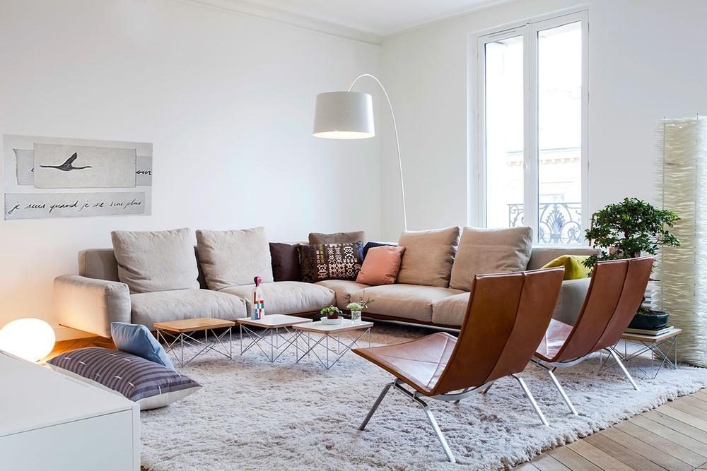 Progetto di ristrutturazione un appartamento a Parigi - Desiron Lizen