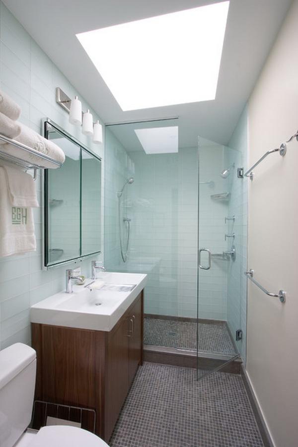 Comode porte di vetro per l'angolo doccia