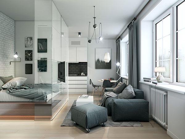 Come sfruttare al meglio lo spazio 4 mini appartamenti di for Arredare un mini appartamento