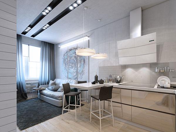 Mini appartamento di 35 metri quadri