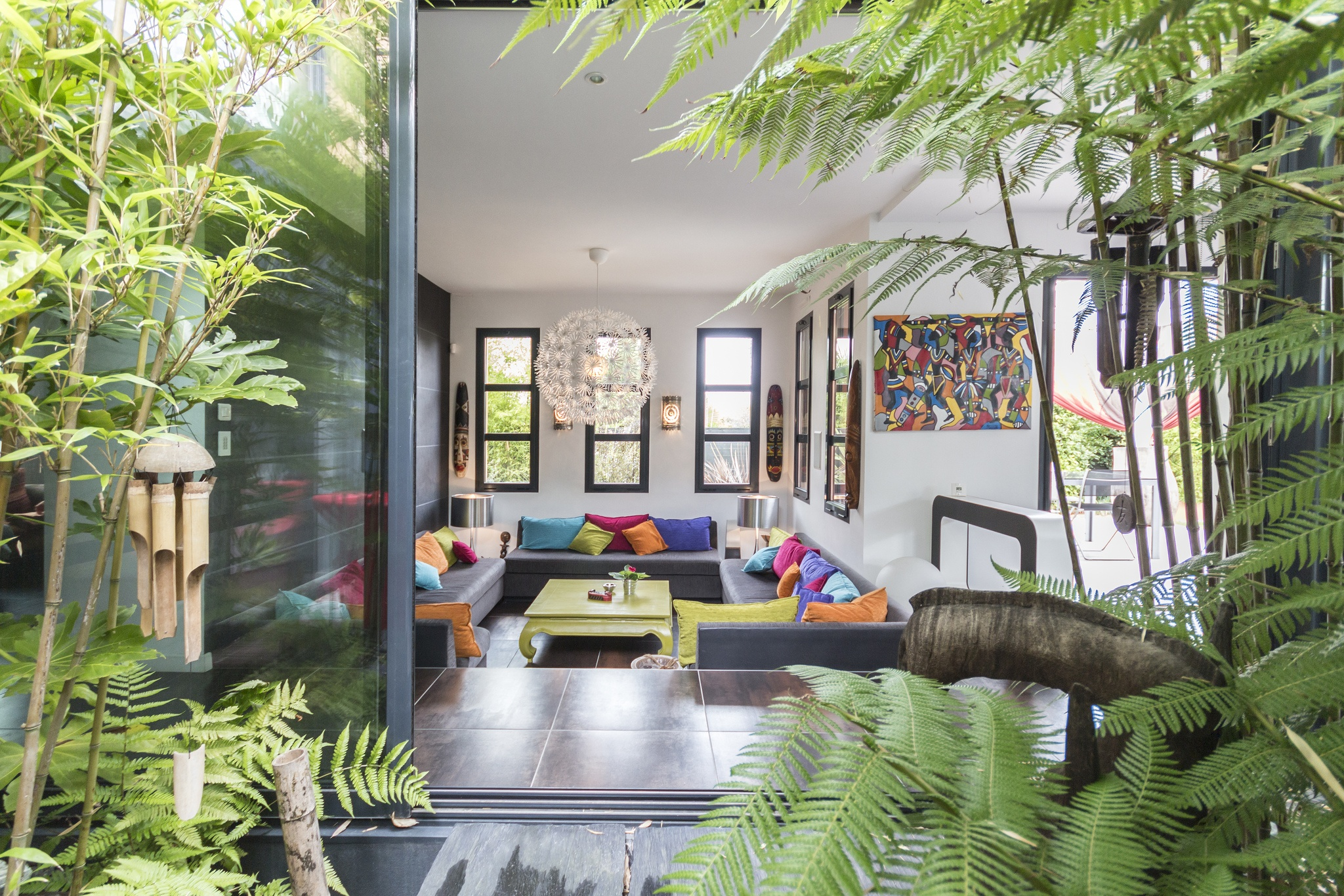 Villa contemporanea a La Baule - Photo: Steven Baconnais