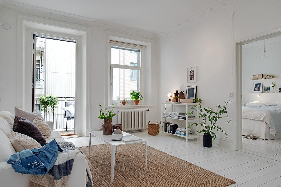 Un appartamento in perfetto stile scandinavo for Casa stile scandinavo