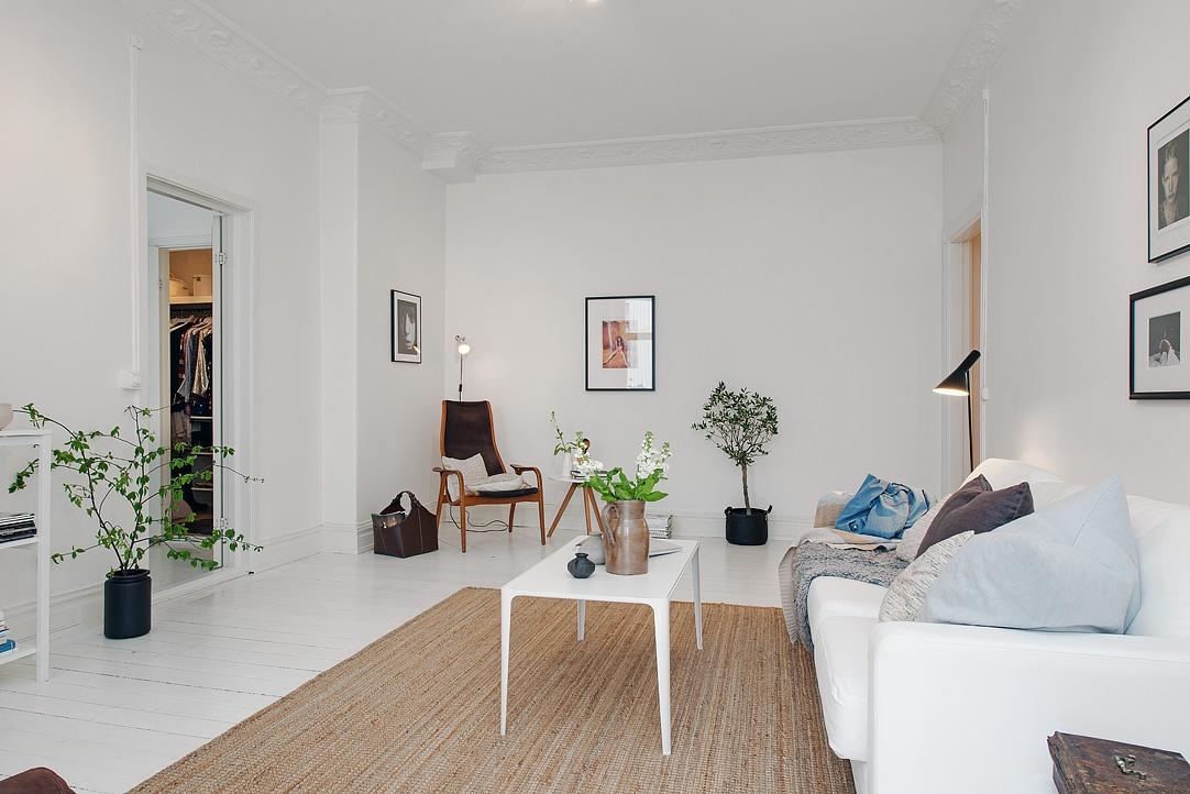 Un appartamento in perfetto stile scandinavo for Casa di ranch stile artigiano