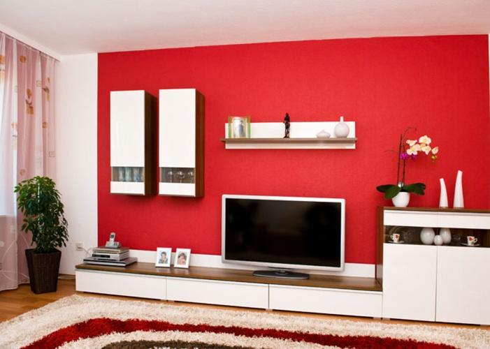come scegliere il colore per le pareti - casa di stile - Colore Rosso Ambienti Classici Moderni