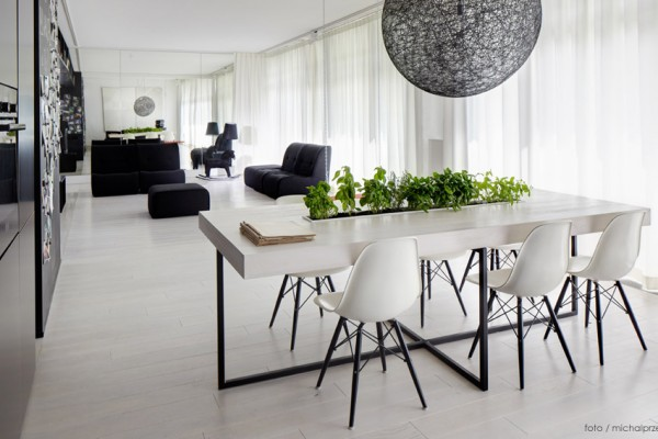 Stile bianco e nero archivi casa di stile for Casa stile minimal