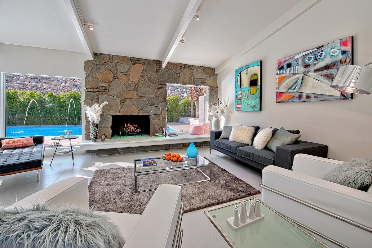 Villa Da Sogno A Palm Springs In California Casa Di Stile