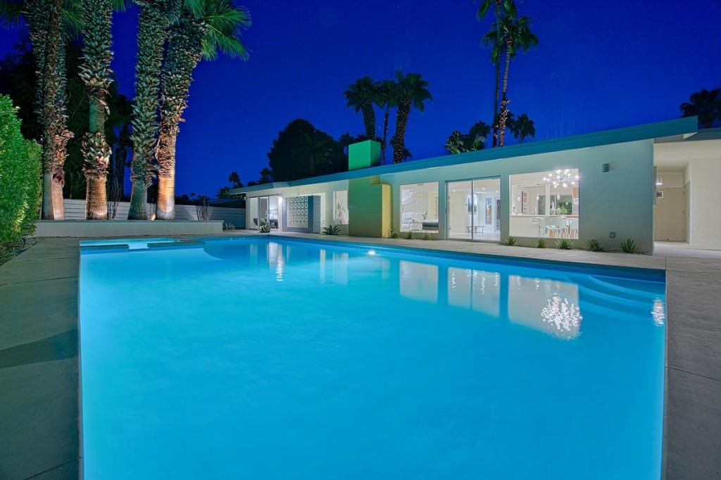Villa da sogno a Palm Springs in California