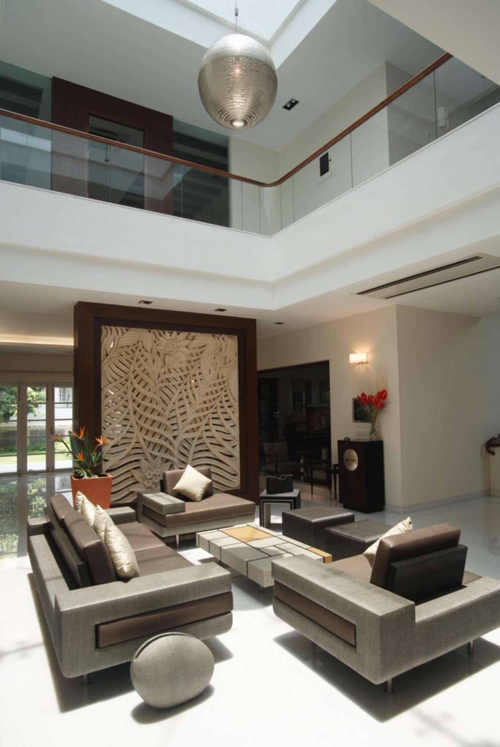Settipalli residence design contemporaneo e semplicit for Casa di ranch stile artigiano
