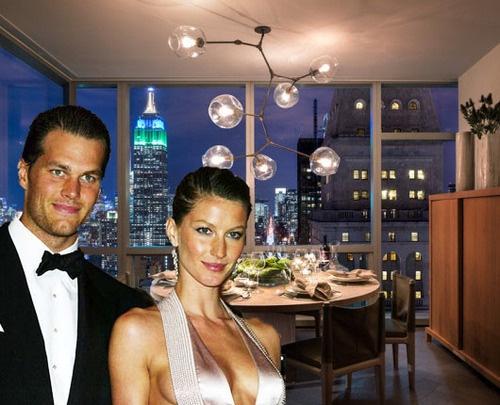 Tom Bradey e Giselle Budchen