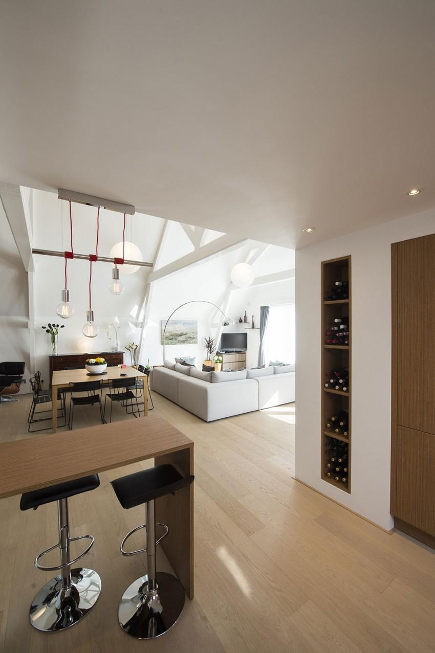 Progetto casa f la metamorfosi in un appartamento moderno for Progetto appartamento moderno