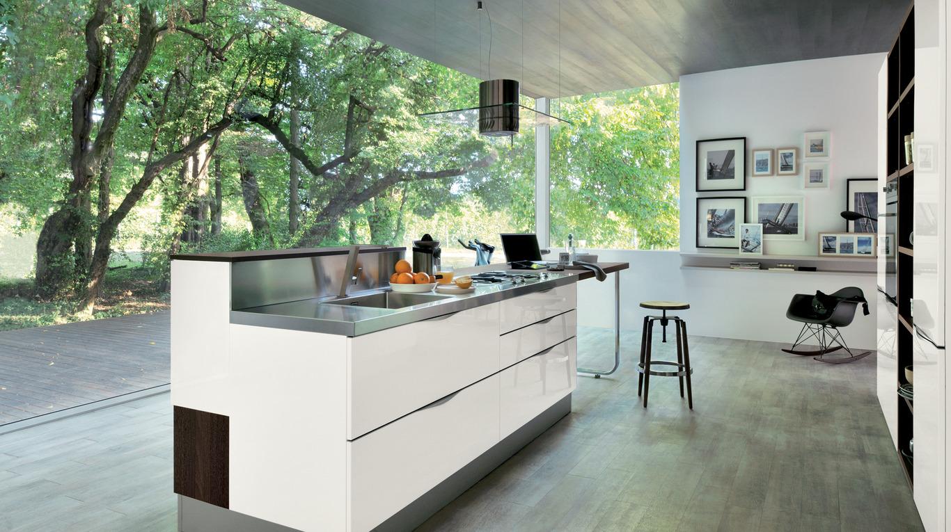 Tutto su isole e penisole dalla scelta alla progettazione - Cucine con isole ...