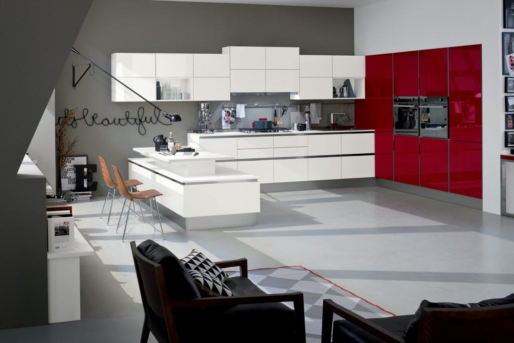 Cucina Like con penisola - Veneta cucine