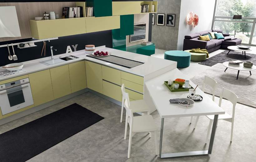 Super Cucine con penisola: come e perché - Casa di stile XA98