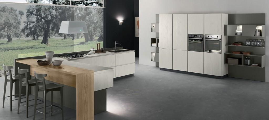Torchetti - New Vega - Cucina con penisola