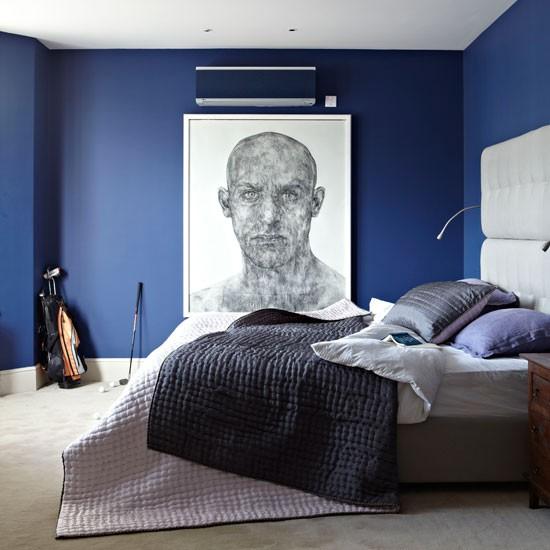 Blu per la camera da letto