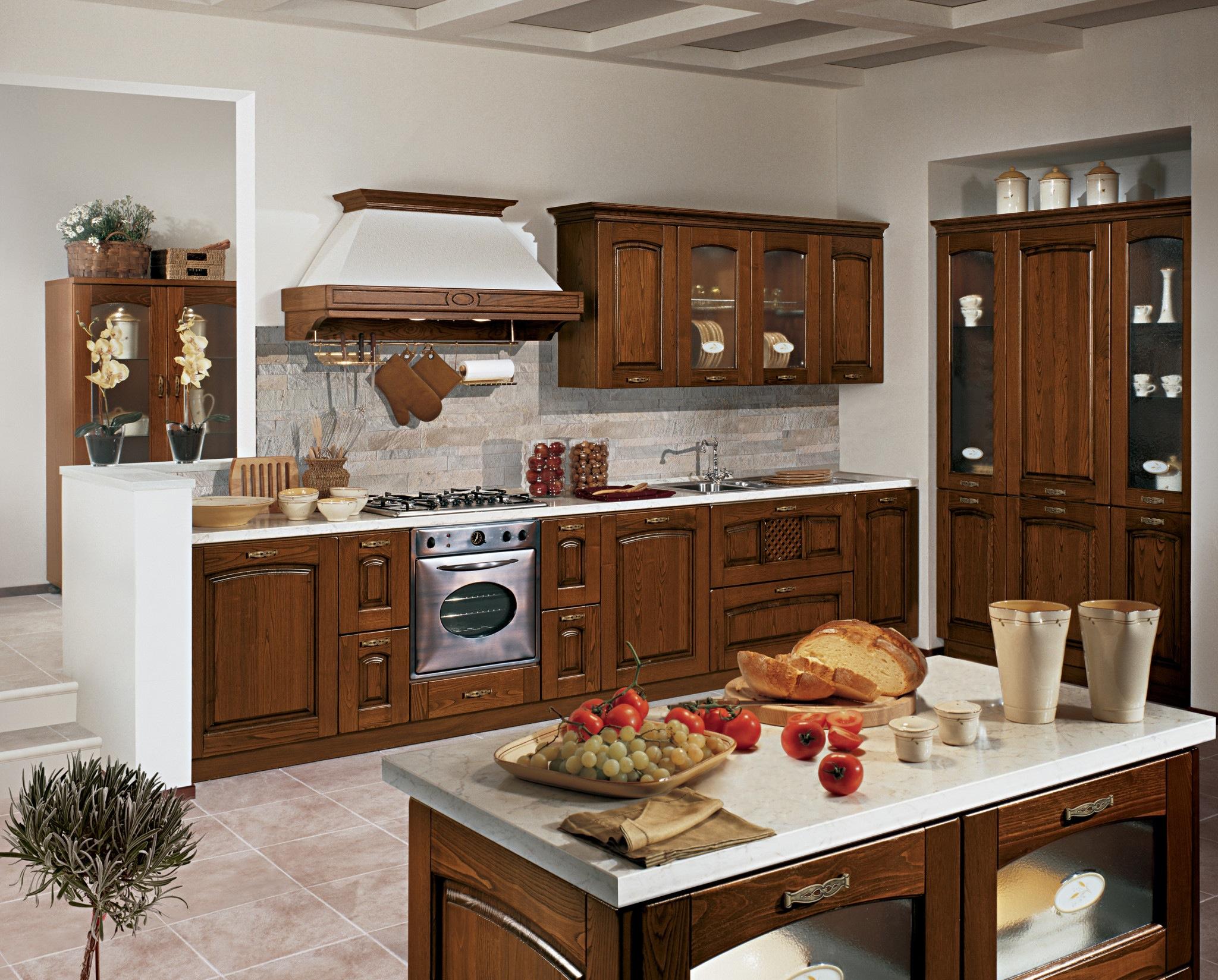 Piano in marmo - Cucina Stosa