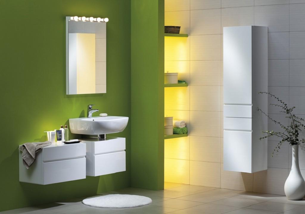 Verde per il bagno