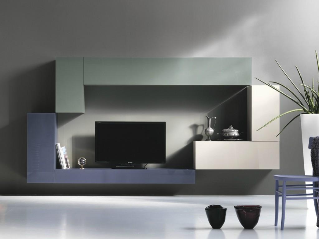 36E8 | Parete attrezzata Parete attrezzata componibile fissata a muro Design By Daniele Lago (2003) Collezione 36e8
