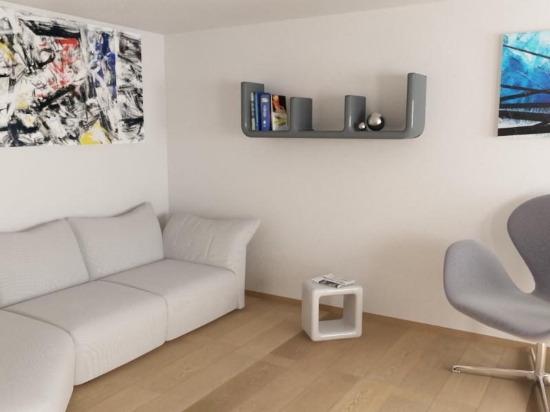 Mensola Atlante - Designer: Paolo D'ippolito per Zad Italy