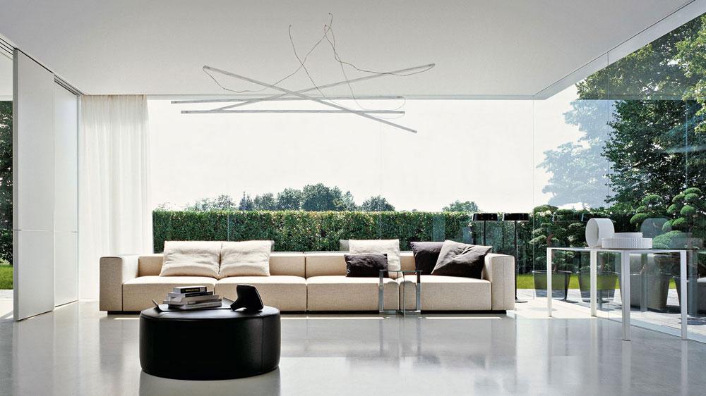 Divano Freestyle - Design Ferruccio Laviani  By Molteni & C - Prezzo di listino per modello in foto: 6.000-6500 euro