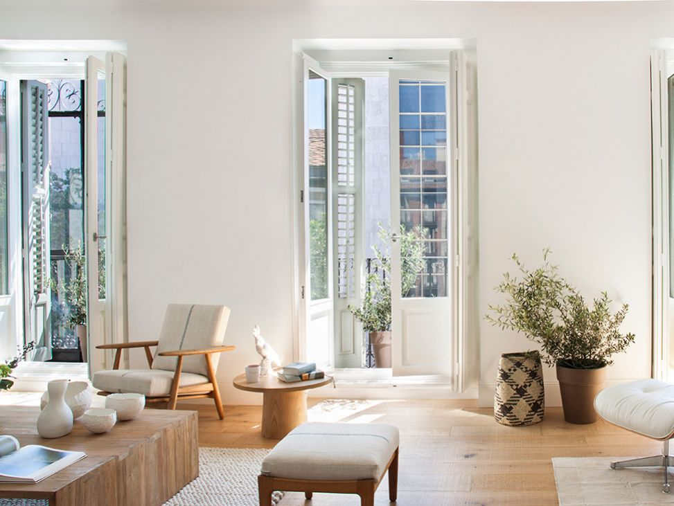 Un nuovo look moderno e pulito per una casa nel cuore for Case di stile