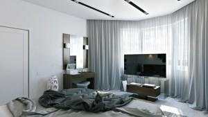 Veltrov - Camera da letto Moderna con colori freddi