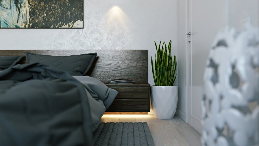 Veltrov camera da letto moderna con colori freddi casa - Colori camera da letto moderna ...