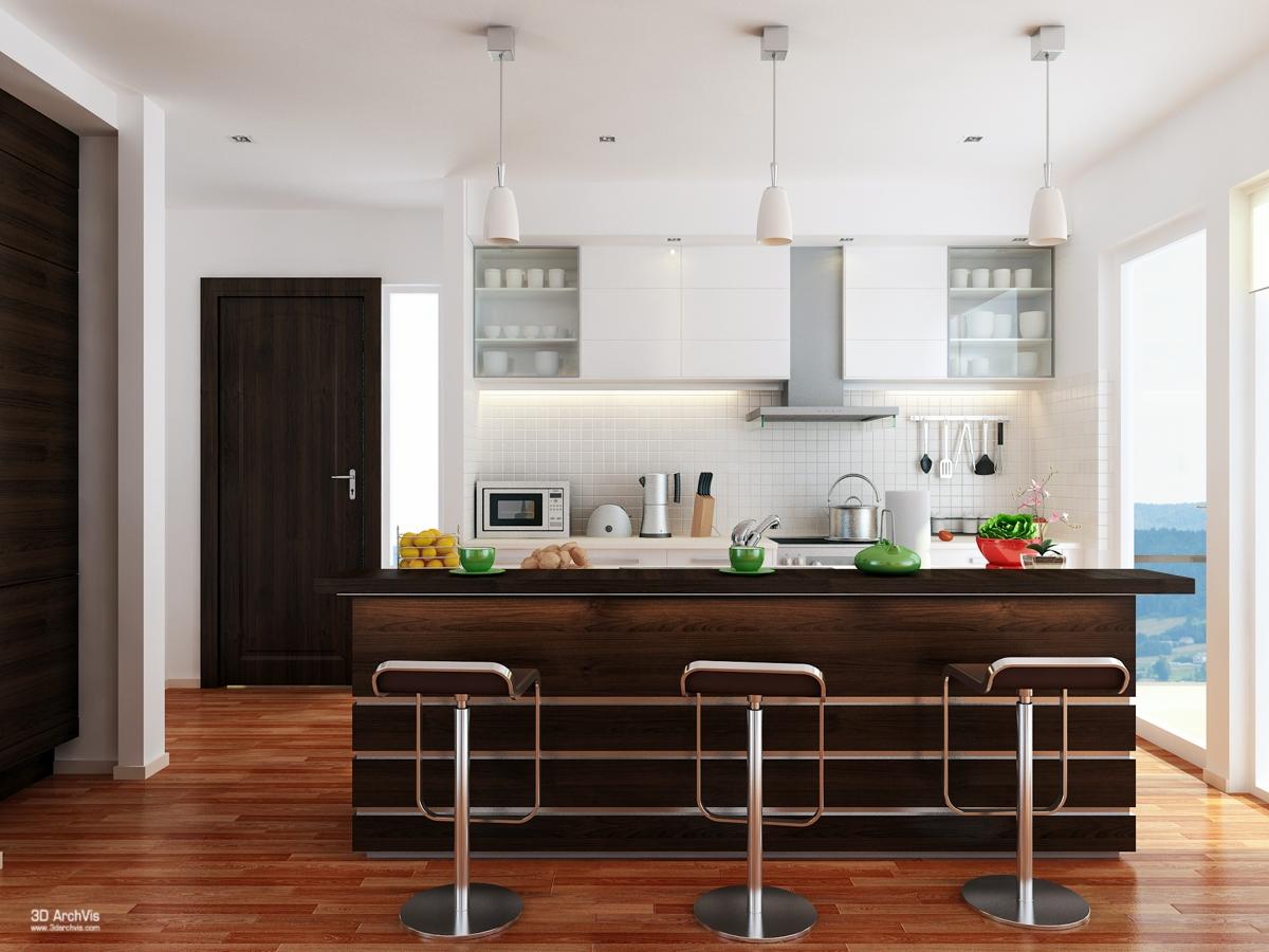 Idee per arredare una cucina a vista casa di stile for Idee arredo casa