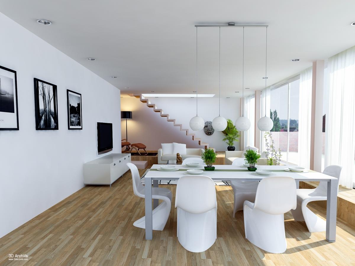 Idee per arredare una cucina a vista casa di stile - Arredare sala con cucina a vista ...