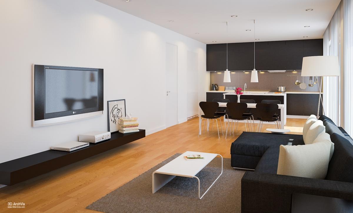 Idee per arredare una cucina a vista casa di stile for Idee cucina living