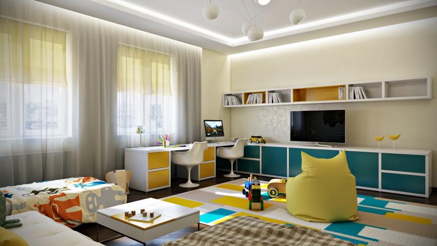 Camera per bambini - Soluzione 1