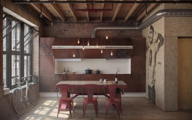 Loft in stile industriale
