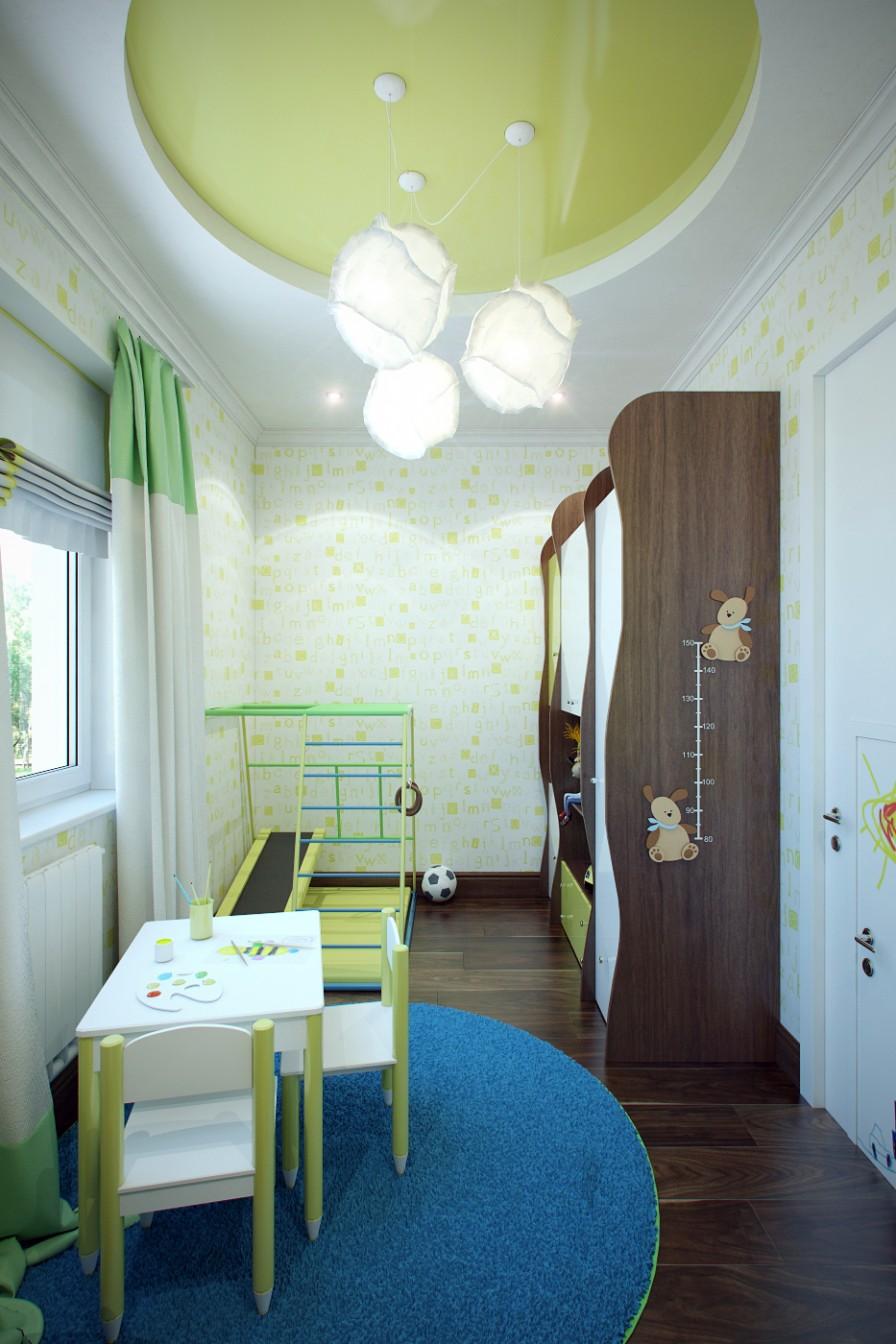 Camera per bambini soluzione 4 casa di stile for Camera di bambini