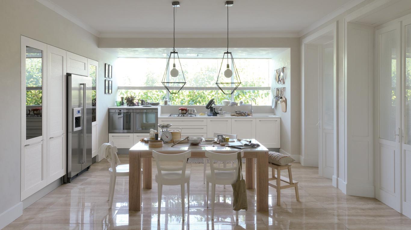 Idee Soggiorno Cucina Piccolo idee per arredare una cucina a vista - casa di stile