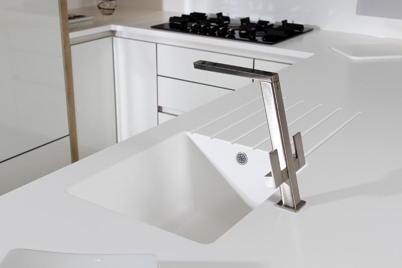 Piano Lavabo Cucina.Tendenze In Cucina Il Lavello Integrato Nel Piano Di Lavoro
