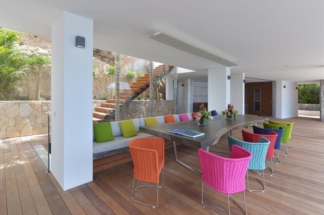 Una villa caraibica con vista mozzafiato sul mare casa for Case di stile