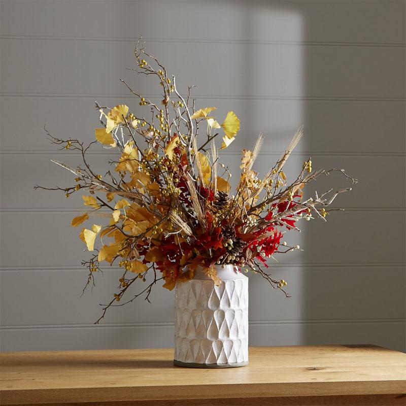 Composizione foglie e rami