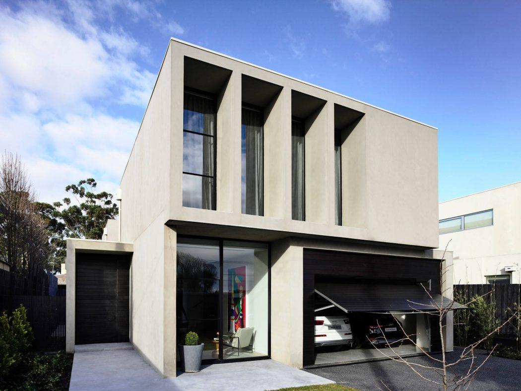 Una casa elegante e minimalista casa di stile for Piani di casa in stile ranch contemporaneo