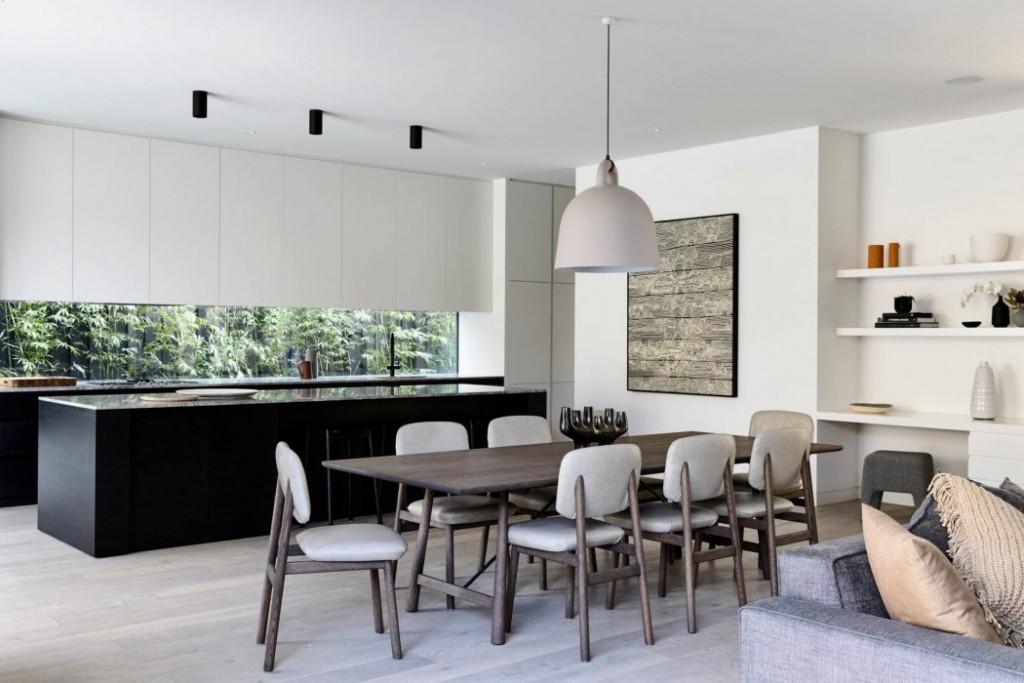 Una casa elegante e minimalista casa di stile for Casa di design