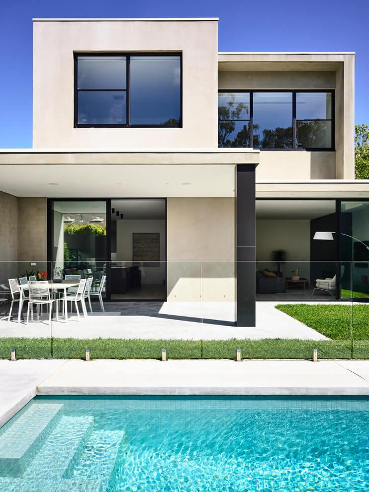 Una casa elegante e minimalista casa di stile for Casa stile minimalista